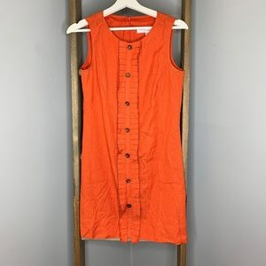 Trina Turk Burnt Orange Shift Dress